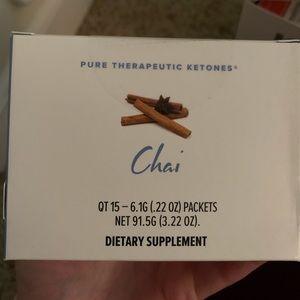 Pure therapeutic ketones | chai tea from Pruvit